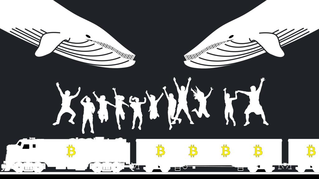 Bitcoin JETZT - Spring auf den fahrenden Zug auf, bevor es die Wale tun